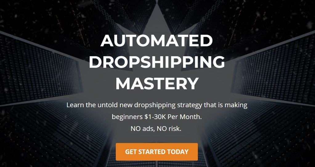 Automated Dropshipping Mastery