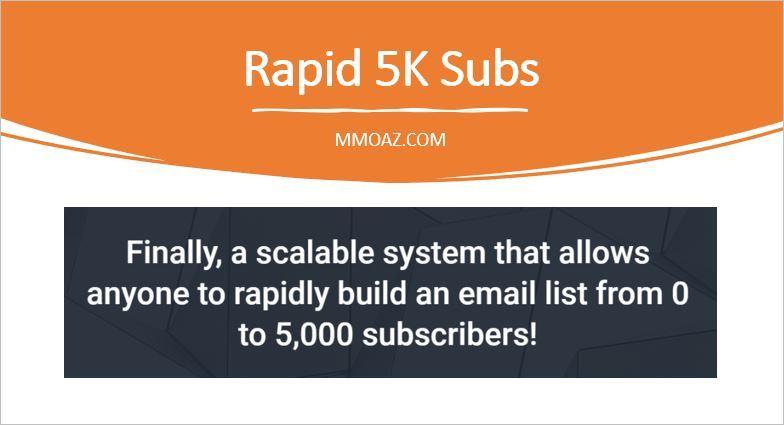 Rapid 5K Subs